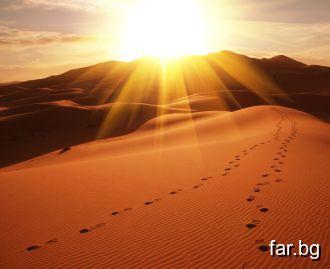 Някъде сред пясъците едно момиче ме очаква