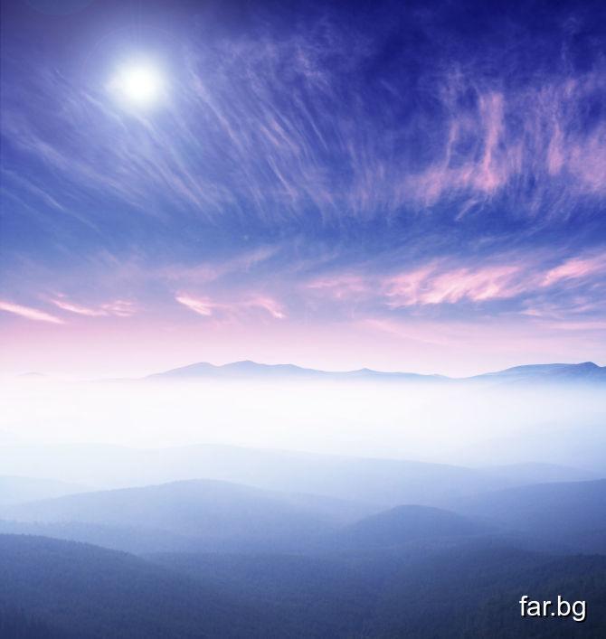 Като виждаш отгоре небето, да виждаш лицето Божие