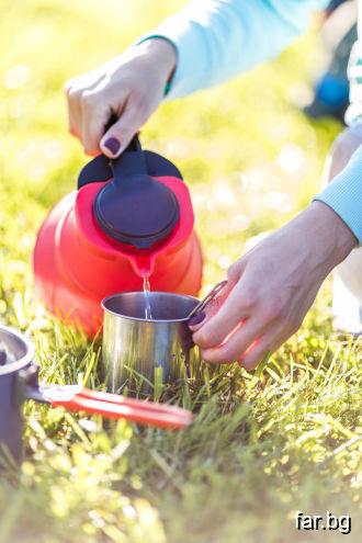 Горещата вода помага за разтваряне на утайките, ко