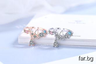 Изящни колиета, обеци, гривни, пръстени за стилни