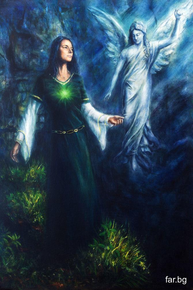 Ако вие сте верни на Бога във вас, Ангел Господен